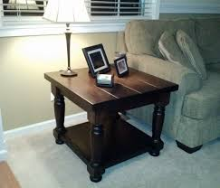 matching coffee and end tables using the heritage table legs