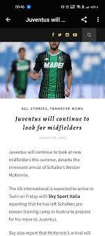 Forza Juve - Juventus News pour Android - Téléchargez l'APK