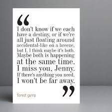 best forest gump and jenny ideas couples  favorite forest gump quote jenny was crazy to keep hurting him he was so