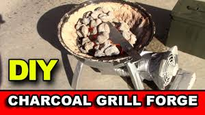 diy charcoal grill forge for knife making bugout s 1 network for preppers survivalists
