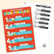 Smart Chart Solving Word Problems Smart Chart Top Notch Teacher
