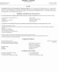 Resume Maintenance Sample Resume