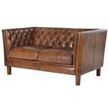 leather chesterfield chair. Vintage Tan Leather Chesterfield Sofa - 2 Or 3 Seater Free Chair I