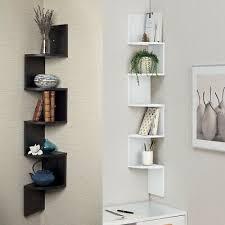 2 3 5 tier floating wall shelves corner