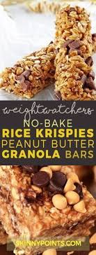 no bake chewy chocolate chip peanut er granola bars the baking chocolatess