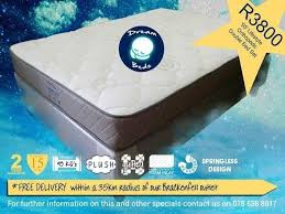 mattress no springs. free delivery lifestyle orthopaedic. 95kg. no springs. double bed mattress mattress no springs