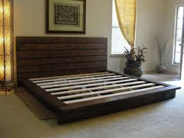 pallet king size bed king size bed frame from pallets home design and decorating ideas