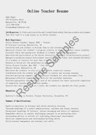 Montessori Teacher Resume Sample Resume Peppapp
