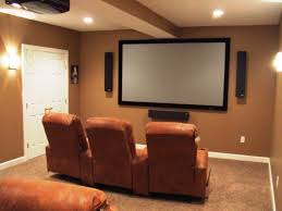 Image of: Small Basement Theater Ideas 2018