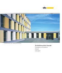 Architektenordner Fassade Produkte Und Systeme Details