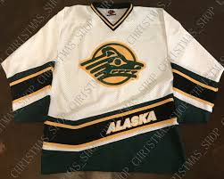 K1 Hockey Jersey Size Chart 2019 Stitched Custom Vintage K1 University Of Alaska Anchorage Sea Wolves Hockey Jersey Personalized Custom Any Number Name Xs 5xl From