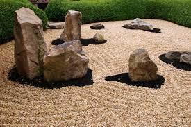 zen rock garden design