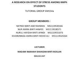 stress essay essay about managing stress org a research on effect of stress among kmph students