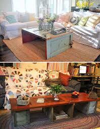 old door furniture ideas. 01-old-door-turned-coffee-table-woohome Old Door Furniture Ideas R