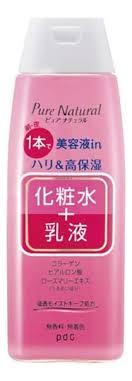 <b>Лосьон</b>-<b>молочко</b> для лица с лифтинг эффектом Pure Natural ...