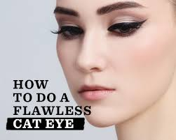 7 makeup artists share their tricks to nail the perfect cat eye better information better health for beauty womancore