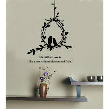 olive branch and birds wall decal sticker love quote on wall art stickers love quotes with olive branch and birds wall decal sticker love quote wall decals