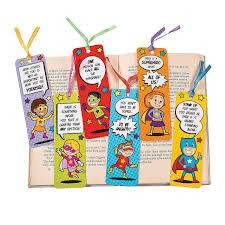 48 Superhero Laminated Bookmarks Size 2 X 6 New