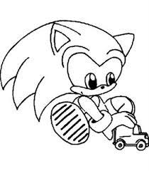 Kids N Fun 20 Kleurplaten Van Sonic X
