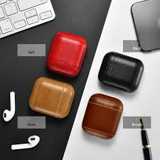 genuine leather airpods earphone protective case skin cover for apple airpod 4 4 of 12 see more