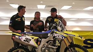 2018 suzuki motocross. perfect suzuki talking about jgr mx and factory suzuki for 2018 with jeremy albrecht  coy gibbs with suzuki motocross