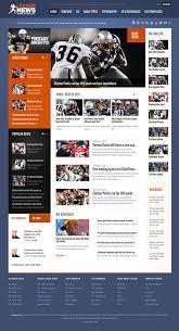 joomla football template. League News Joomla Template for Sport News Portal