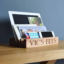 Kitchen Tidy Solid Oak Desk Or Kitchen Tidy By The Oak Rope Company