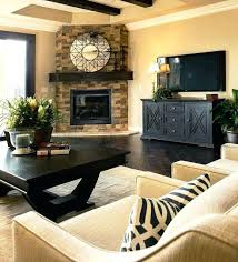 decorating ideas for living room with fireplace and tv the pictures inspiration decor intended