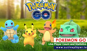Pokémon Go Live Player Count and Statistics