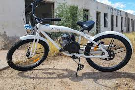 ghost clic gas powered motorized bicycle
