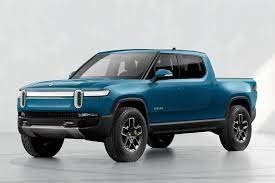 The Rivian R1T is a colorful truck that ...