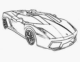 Kleurplaat Race Auto Soort 25 New Car Coloring Page