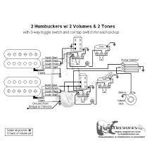 2 humbuckers 3 way toggle switch 2 volumes 2 tones individual coil 2 humbuckers 3 way toggle switch 2 volumes 2 tones individual coil taps