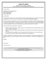 Sample Administrative Cover Letter Executive Assistant Relevant