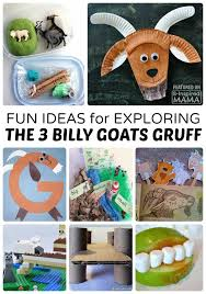 20+ Kids Activities for Exploring The 3 Billy Goats Gruff