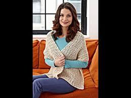 Lion Brand Crochet Patterns Best How To Crochet A Shawl Lion Brand Pattern Yolanda Soto Lopez