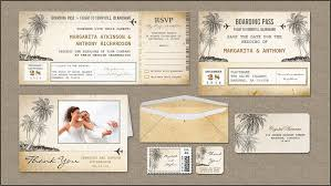 Read More Boarding Pass Flight Tickets Wedding Invitations With