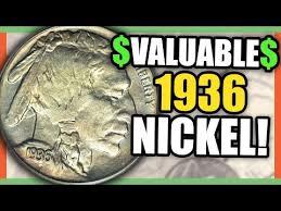1936 Buffalo Nickel Value Rare Nickels Worth Money To Look