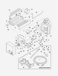 Frigidaire gallery refrigerator parts list new ice maker circuit