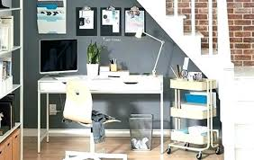 Ikea Home Office Furniture Cabinet Desks Contemporary Inside Table White
