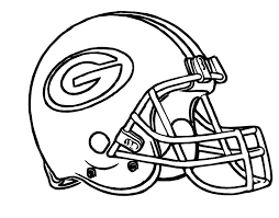 Football Helmet Green Bay Packers Coloring Pages Green Bay Packers
