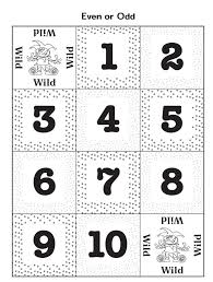 Odd And Even Worksheets. Free Printables And Games Interactive ...