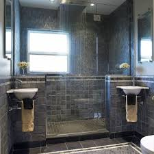 Bathroom Remodel Gallery Magnificent Rain Shower With His And Her Sinks Interesting Would Still Need