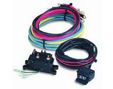 winch wiring kit warn winch upgrade kit includes contactor wiring mini rocker control switch kit