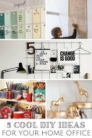 office diy ideas. simple ideas 5 cool diy ideas for your home office on diy