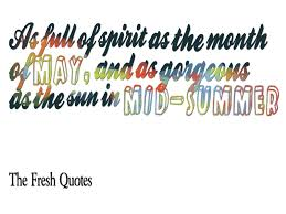 40 May Day Quotes Spring TheFreshQuotes Inspiration Quote Of The Month