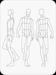 Download Fashion Figure Templates Prêt à Template