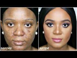 omabelle shares her foundation routine to cover dark spots watch