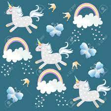 Little Unicorns Frolic In The Sky ...