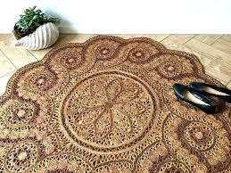 round woven rug circular woven rug circular jute rug round ornate jute rug bohemian woven sisal